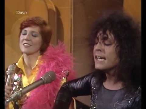 Marc Bolan & Cilla Black - Life's A Gas. i love this and she got to keep his boa!
