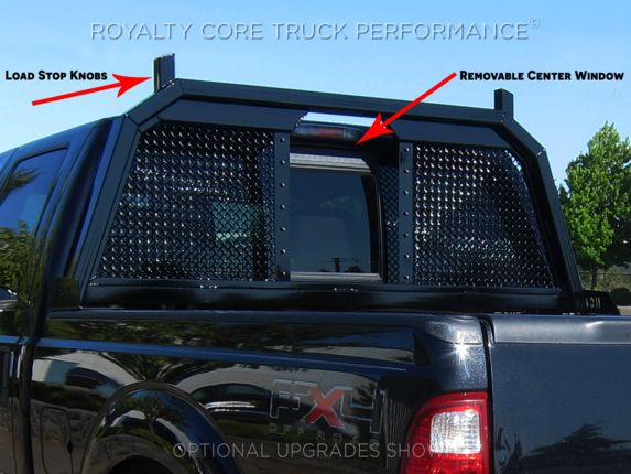 Dodge Ram 2500/3500 2003-2009 RC88 Billet Headache Rack w/ Integrated Taillights