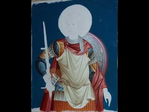 Byzantine Iconography Videos. M.Iconographer. Qirjako Kosova ( Gridesgn-Iconography)