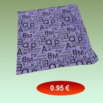 Διακοσμητικά μαξιλάρια σαλονιού σατέν 40Χ40 εκ. σε μωβ χρώμα 0,95 €...