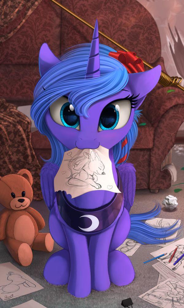 Luna's desire =3 by Yakovlev-vad.deviantart.com on @DeviantArt