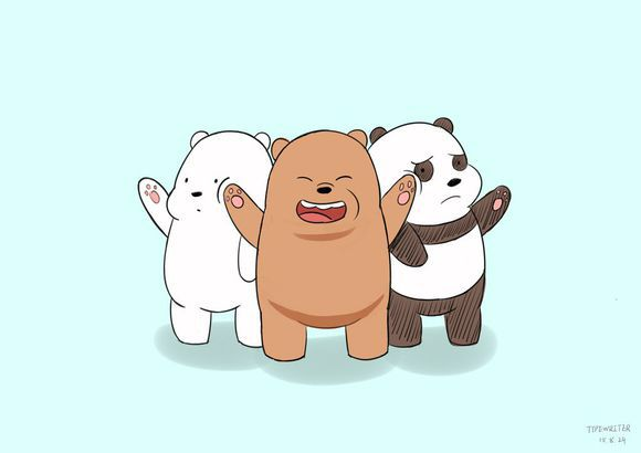 No racism with these fellas #webarebears #cartoons #cartoonnetwork