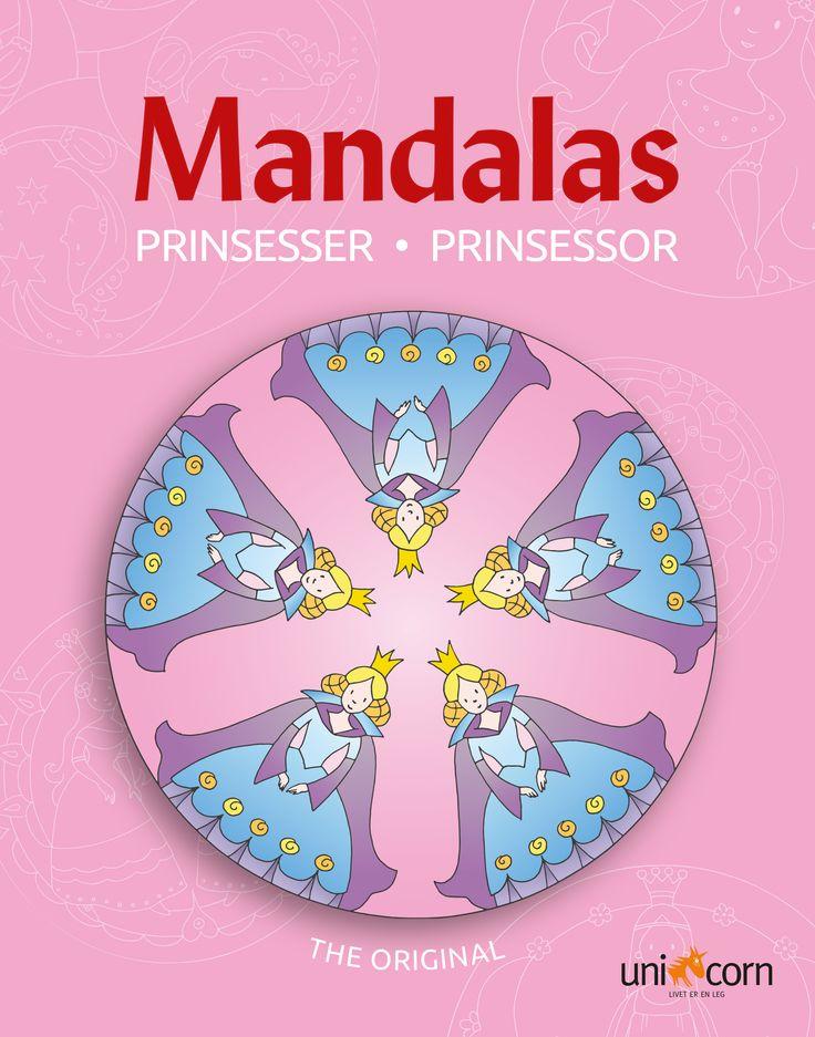 Mandalas malebog  Prinsesser