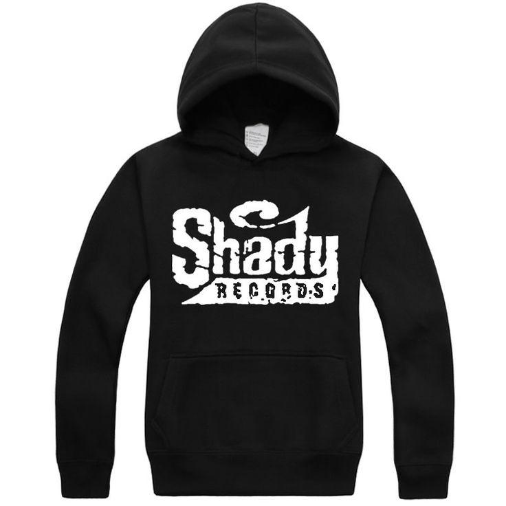 Eminem Shady Records long sleeve Hoodie