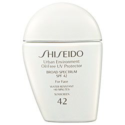 Sephora: Shiseido : Urban Environment Oil-Free UV Protector Broad Spectrum SPF 42 For Face : face-sunscreen-skincare