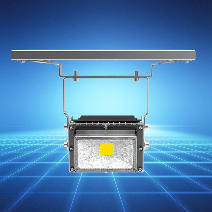 New Smart PIR Infrared Motion Induction Time Light Sensor Control 15W IP65 LED Solar Flood Light for Garden Parking Lighting