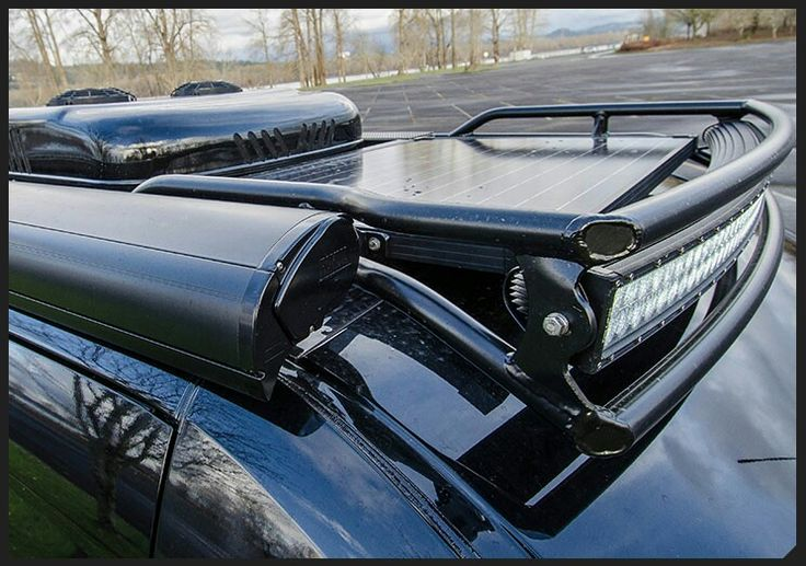 Roof rack led bar