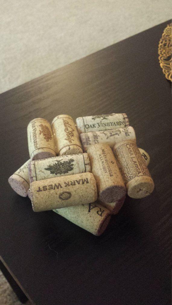 Real Cork Coasters от JenniferJuliaShop на Etsy