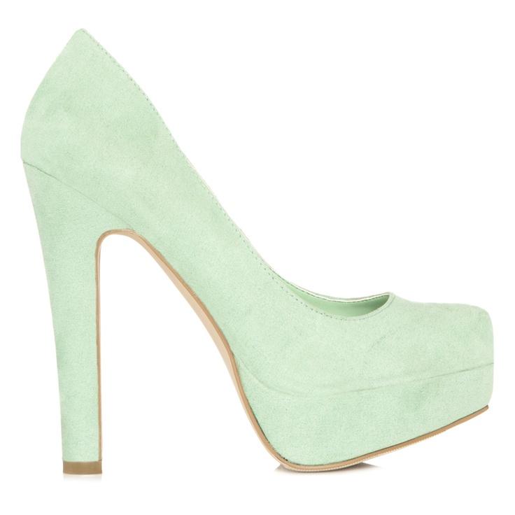 Mint heels!