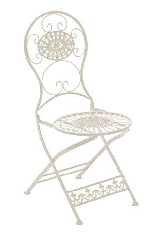 gartenmobel metall jugendstil, sikalo metall-gartenstuhl klappbar, antik design im landhausstil, Design ideen