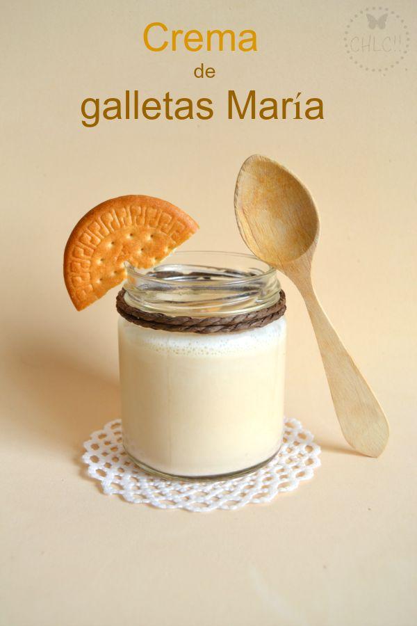 CREMA DE #GALLETAS MARIA #Thermomix