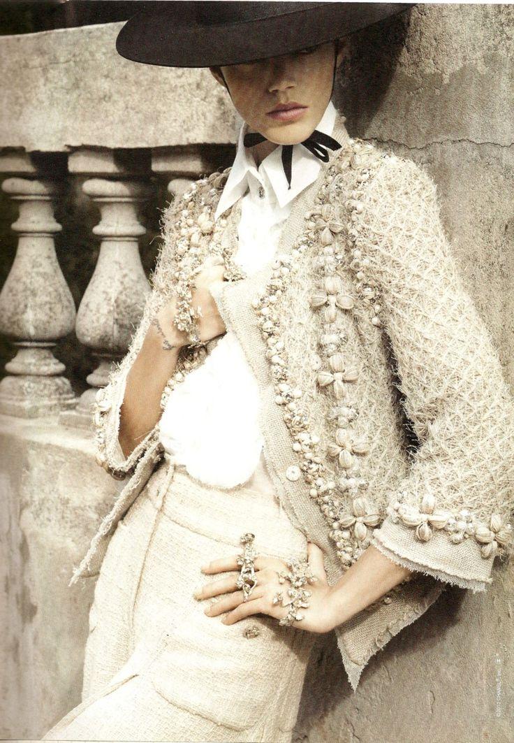 Model: Freja Beha Erichsen | Photographer: TBD - for Chanel 2010 http://livelovewear.com/womensfashion