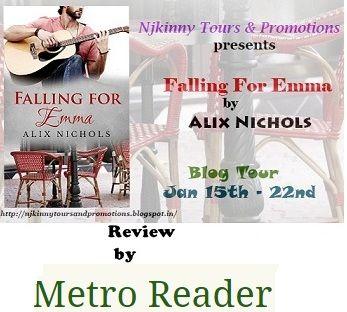 @metro_reader #Loved Falling For Emma by Alix Nichols #BookReview https://metroreader.wordpress.com/2015/01/21/falling-from-emma-by-alix-nichols/ #NjkinnyTours @Njkinny #Romance #Novella