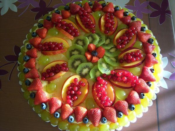 torta di frutta fresca – ricetta base