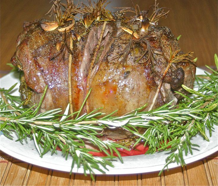 Roast Lamb Recipe (Noga jagniecia)