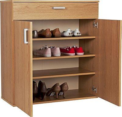Buy HOME Venetia Shoe Storage Unit - Oak Effect at Argos.co.uk, visit Argos.co.uk to shop online for Shoe storage