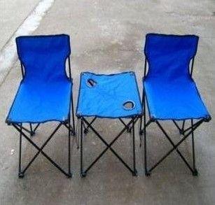 Складной пикник стул рыбалка стул складной столик кемпинг стул отдыха на открытом воздухе наборы 3 шт. (1 стол + 2 стулья)
