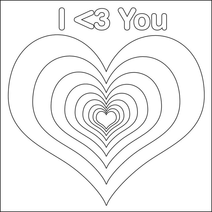 71 best Coloring 4 Adults images on Pinterest Coloring pages - new love heart coloring pages to print