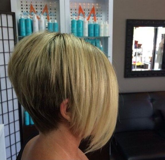 Long In Front Short In Back Hairstyles Bob Hairstyles Bobs Haircuts Short Hair Styles
