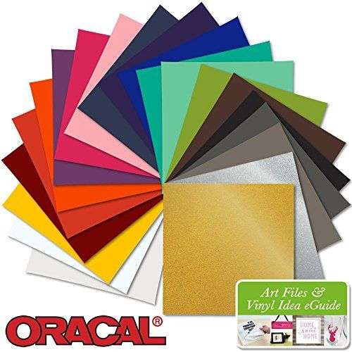 21 12 Inch X 12 Inch Sheets Of Oracal 641 Matte Permanent Vinyl Every Color Oracal Vinyl Sheets Vinyl