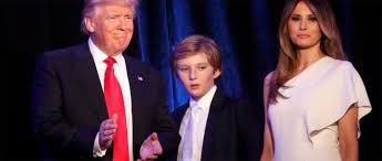 Chelsea Clinton Let Barron Trump be a kids Chelsea defends Barron Trump Hillary and Bill Clinton