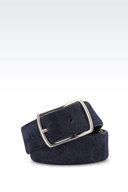 Belts: Leather belts Men by Armani - 1