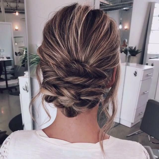 Elegant Hairstyles   Bridal Hair Up   Cute Formal Hairstyles For Medium Hair 20190924