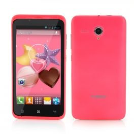 Timmy E128 4.5 Inch Android Phone - 1.3GHz Dual Core CPU, 5MP Camera, GPS, Bluetooth (Pink)