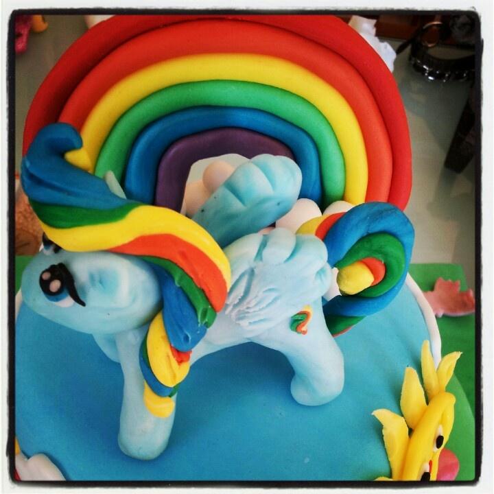 My little pony cake -Rainbow Dash