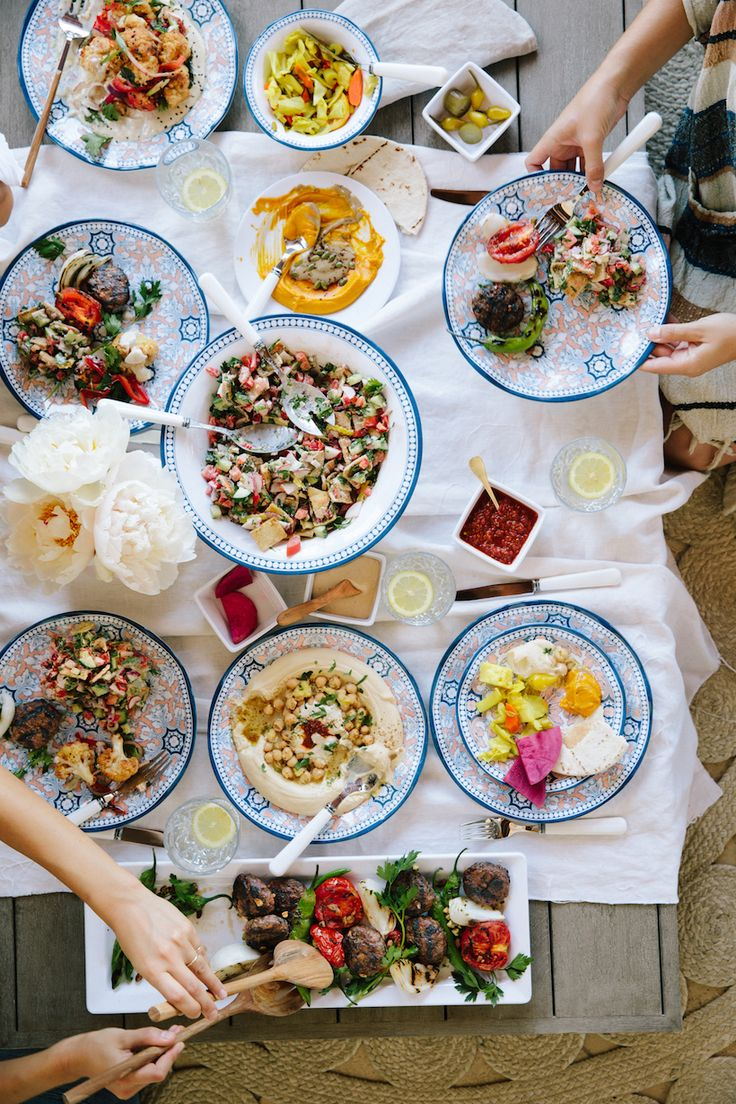 This Israeli Menu is Perfect For Your End-of-Summer Party