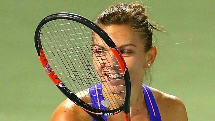 Tennis: Simona Halep KO's Caroline Wozniacki to reach final in Dubai | Sporting News
