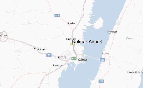 awesome Kalmar Sweden Map
