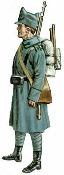 Romanian Army - Jaeger 1912, pin by Paolo Marzioli