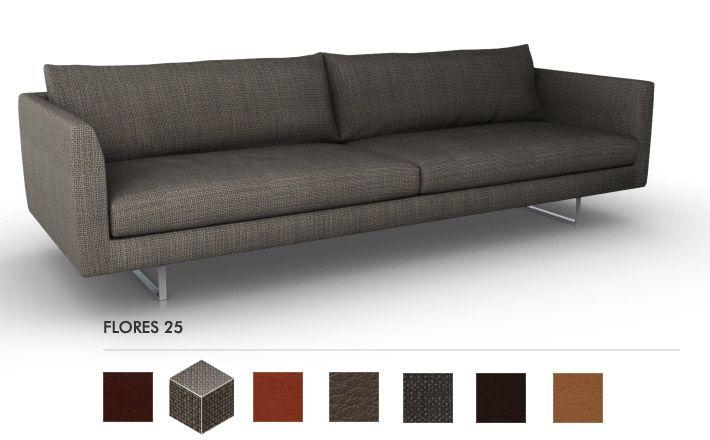 Montis axel drie en twee1 2 zitter en loveseat op de banken bekleding flores 60 op de - Sofa zitter ...