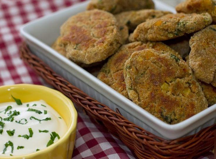 Nuggets de Grão-de-Bico e Legumes
