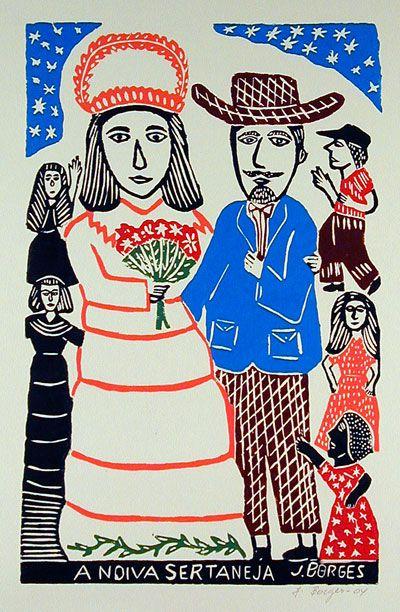 E ele fez um só pra mim! ;)  ------- J. Borges. A noiva sertaneja