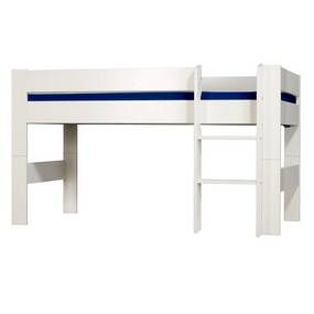Malmo White Mid Sleeper Bed