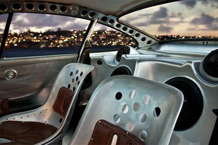 Rawsche interior by Paul Begg. Outlaw Porsche 911