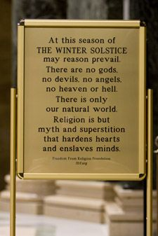 """""""Religion is but myth and superstition that hardens hearts and enslaves minds."""""""