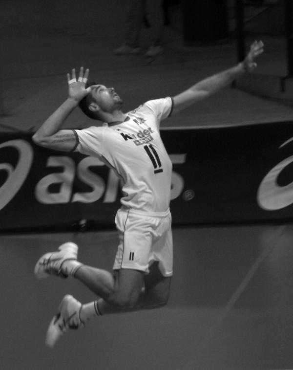 Cristian Savani - Captain of the italian men's volleyball team