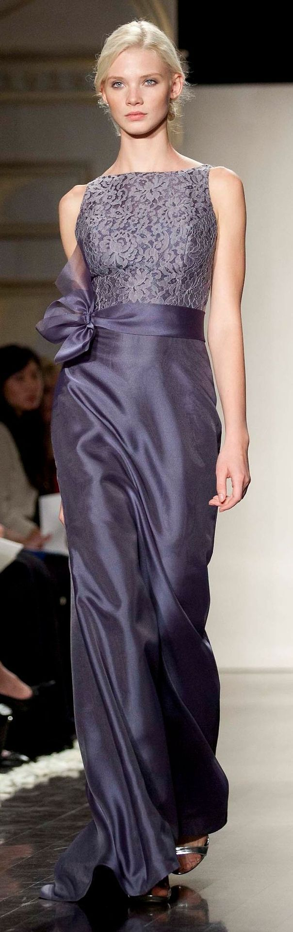 This is such a lovely Lazaro. Bridesmaid, maybe even Mother of the Bride (or Groom?) dress....
