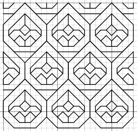 imaginesque.blogspot.co.uk, free blackwork patterns
