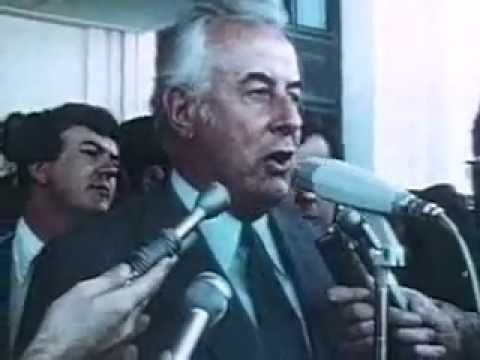 The Dismissal (1 of 5) Of Gough Whitlam On 11th November 1975. This is a 5 part presentation, follow the youtube links to see the whole production.