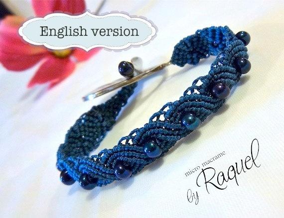 Eternal waves {pandora style} bracelet tutorial | craft.