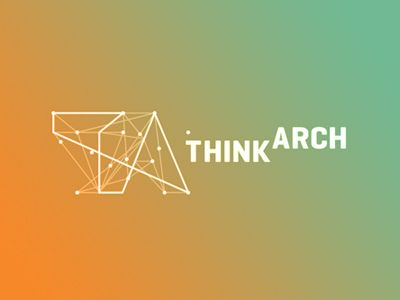 Think Arch architecture contest competition connections logo design …