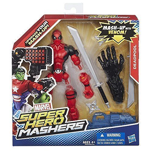 Marvel-Super-Hero-Mashers-Deadpool-Figure-Brand-New-Free-Shipping