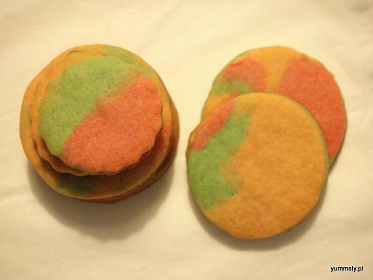 #Ombre #cookies ciastka kruche w modnym ombre ^^