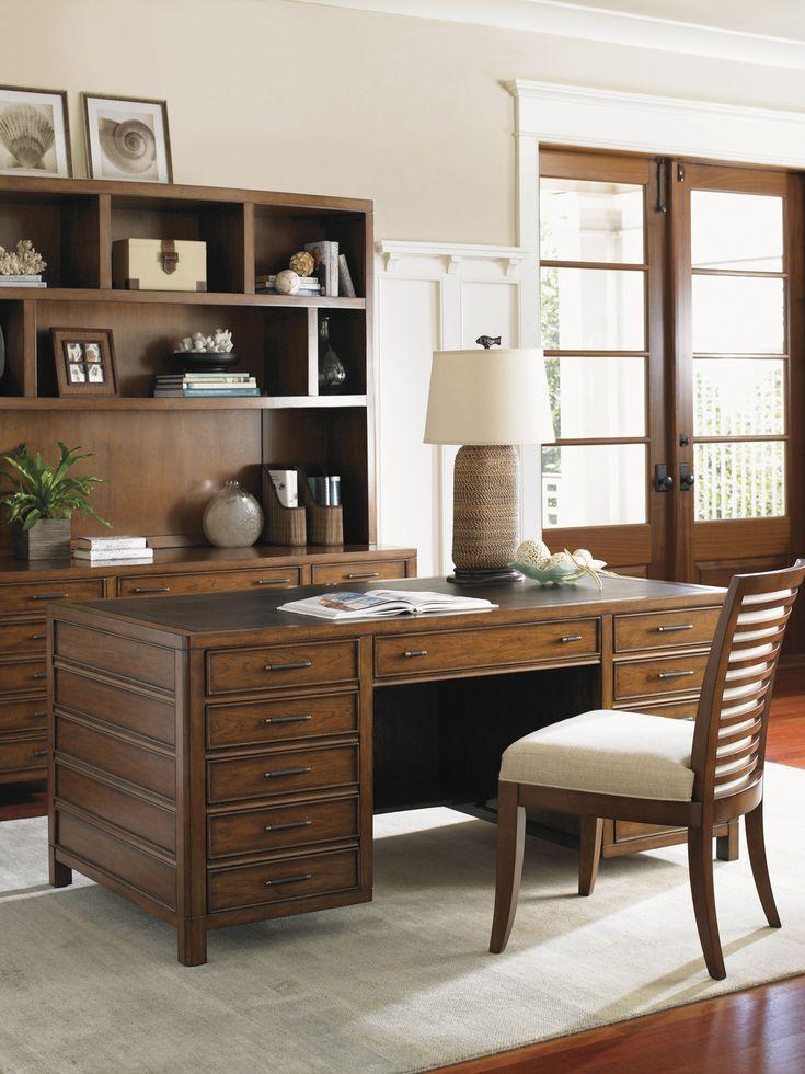 sligh furniture office room. lowest price online on all sligh longboat key bal harbour pedestal desk furniture office room