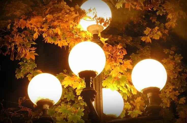 Уличное освещение и его виды  #уличное_освещение #электрика