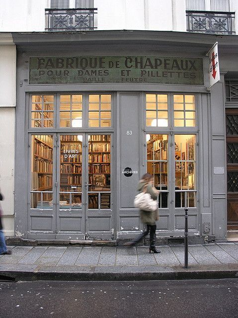 pureblyss — amandaonwriting: Bookshop, Paris (Source)